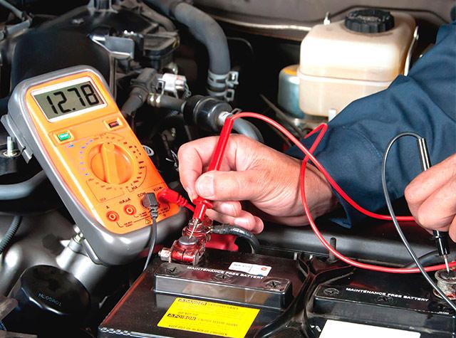Kiểm tra hệ thống điện trên xe Honda