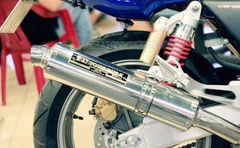 Hình ảnh ống pô xe máy