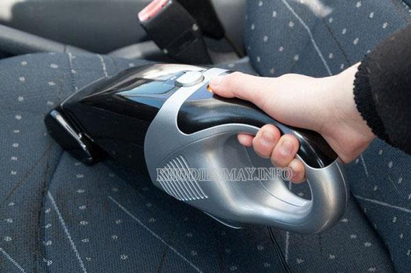 hướng dẫn sử dụng máy hút bụi ô tô đúng cách