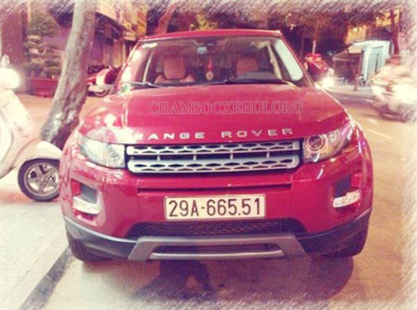 Range Rover Evoque của Tuấn Hưng