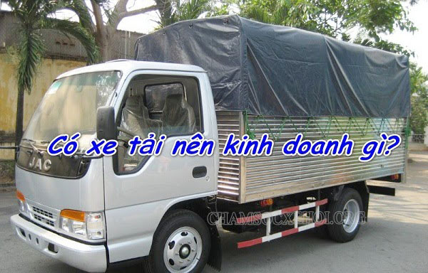 Kinh doanh gì từ xe tải