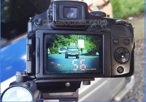 máy bắn tốc độ xe tham gia giao thông