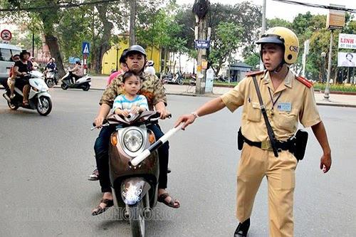 cách tham gia giao thông không bị giao thông bắt