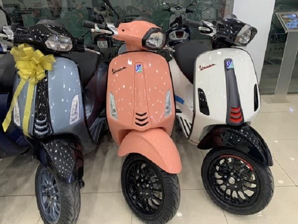 xe tay ga Vespa Sprint 2020 cho con gái
