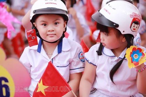 mũ bảo hiểm cho học sinh tiểu học