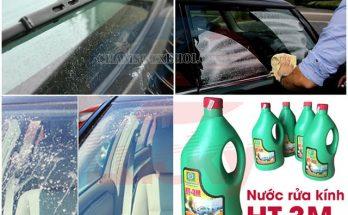 nước lau rửa kính xe hơi
