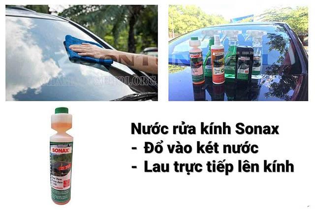 nước rửa kính ô tô