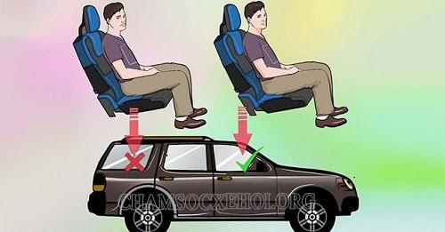 say xe nên làm thế nào