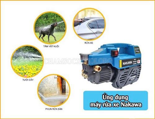 máy rửa xe gia đình nakawa