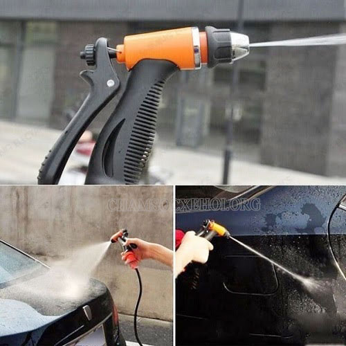 máy rửa xe mini 12v chính hãng