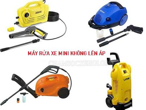 máy rửa xe mini không lên áp