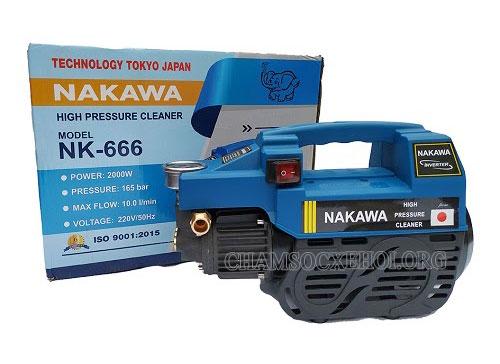 máy rửa xe mini nakawa tốt không