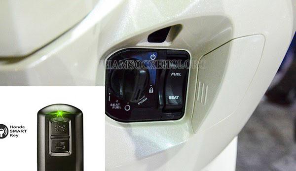 mở khóa cổ xe airblade