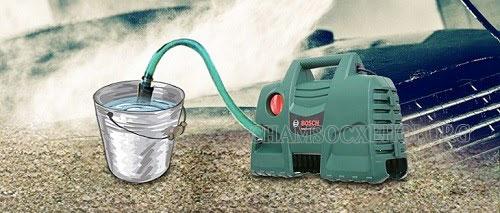 nguyên nhân máy rửa xe không lên nước