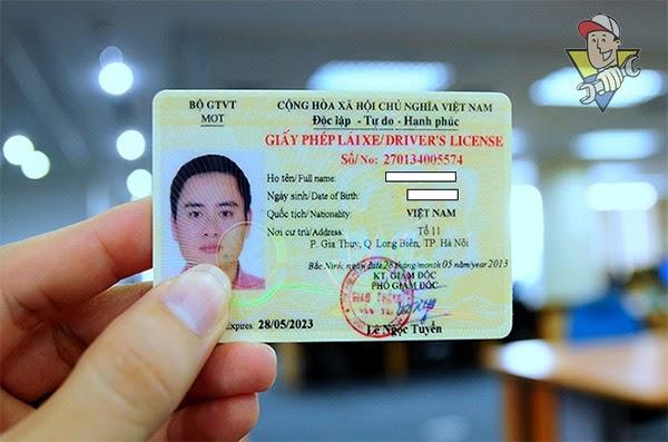 đổi giấy phép lái xe máy thế nào