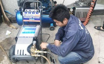 kiểm tra bảo dưỡng máy rửa xe