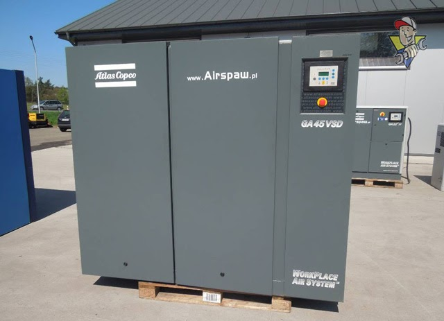 máy nén khí công nghiệp atlas copco