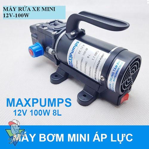 máy rửa xe mini 12V 100W