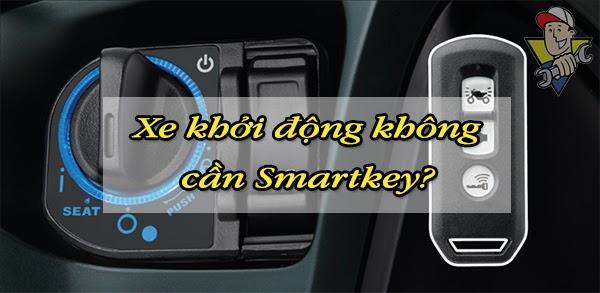 xe SH không nhận smartkey phải làm sao