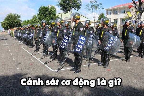 cảnh sát cơ động là gì
