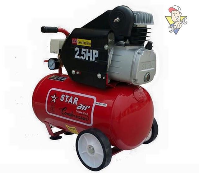 máy nén khí mini dùng rửa xe