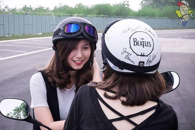 mũ bảo hiểm phượt là gì