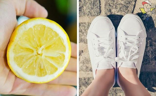 tẩy trắng giày dép