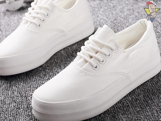 tẩy trắng giày thế nào