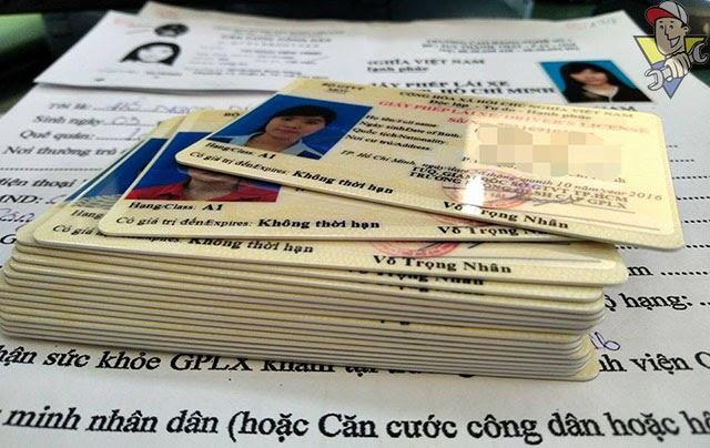 Quy trình đổi giấy phép lái xe