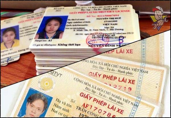 đổi giấy phép lái xe a1 ở đâu