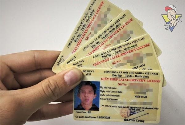 đổi giấy phép lái xe a1