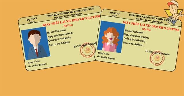 đổi giấy phép lái xe ô tô ở đâu