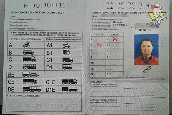 phạt tiền khi không có giấy phép lái xe ô tô