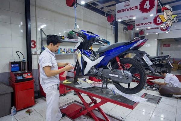 mở tiệm sửa xe máy cần bao nhiêu chi phí