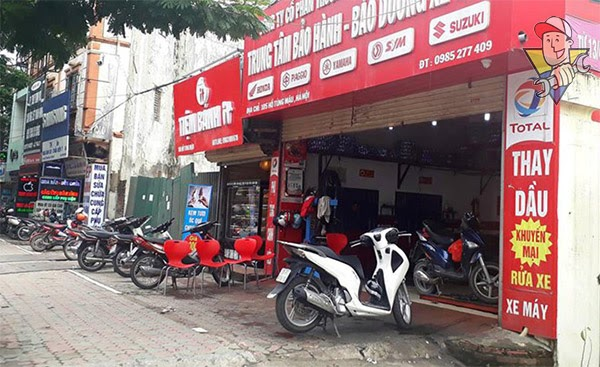 mở tiệm rửa xe máy phảicần bao nhiêu vốn