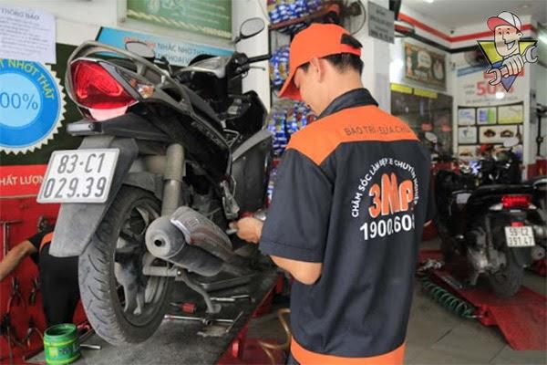 mở tiệm sửa xe máy cần bao nhiêu tiền 2020
