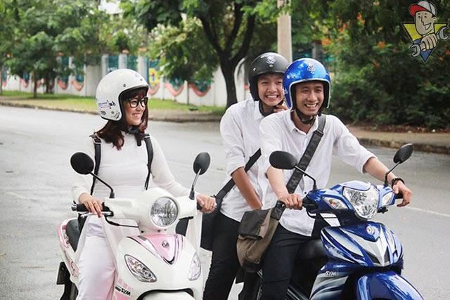 xe máy không cần bằng lái