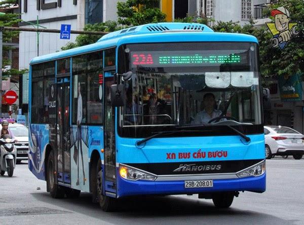 cách đi xe buýt ở hà nội
