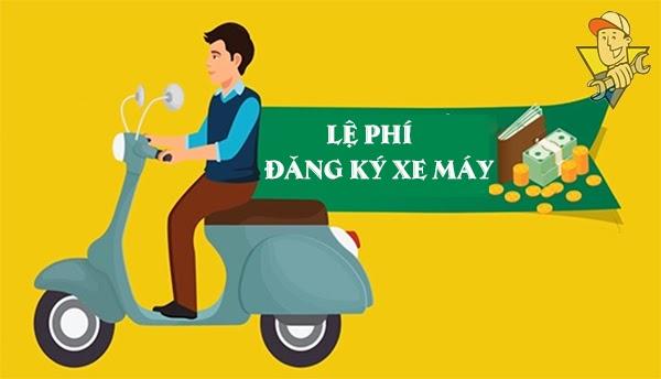 lệ phí đăng ký xe máy