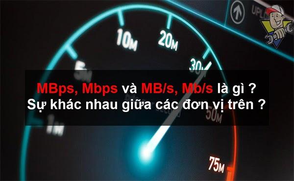mbps là gì 2020