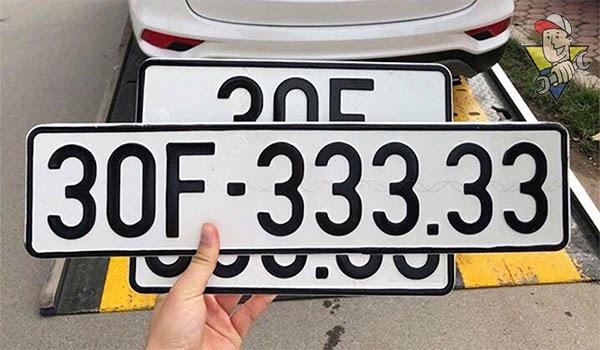 ý nghĩa biển số xe 5 số