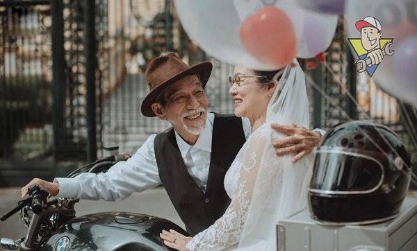 đám cưới kim cương 2021
