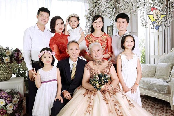 đám cưới vàng bao lâu
