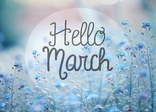tháng 3 tiếng anh là gì