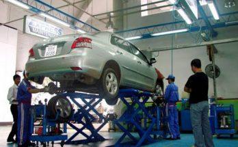giàn nâng sử dụng cho ô tô