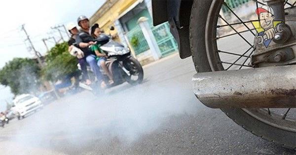 khắc phục hiệu quả xe máy ra khói đen