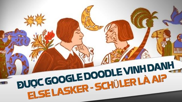 google vinh danh Else Lasker-Schüler