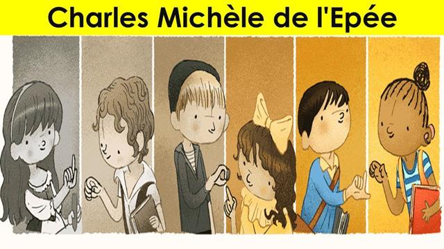 Charles Michèle de L'epée được Google Doodle vinh danh vào ngày sinh nhật