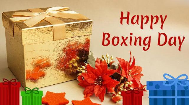 Những hộp quà xinh xắn gửi tặng người thân trong ngày Boxingday