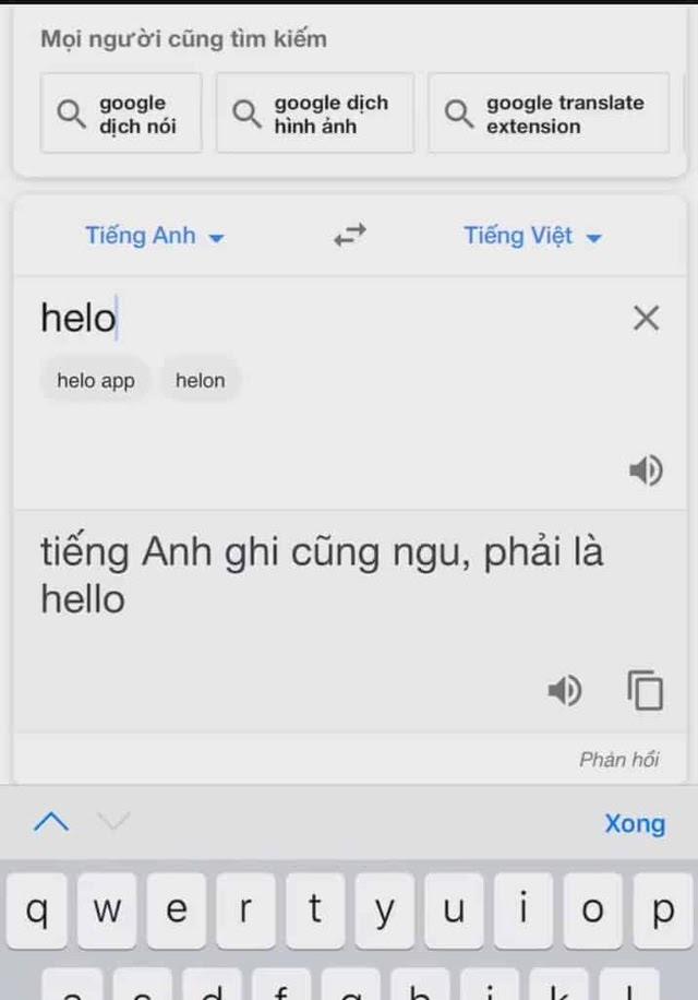 google dịch nói bậy thế nào